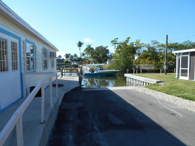 Photo for Cozy  Quite Getaway. Watch Manatees, Dolphins and Pelicans from the pier!