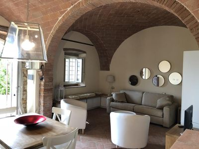 Photo for Modern apartment in the Tuscan countryside