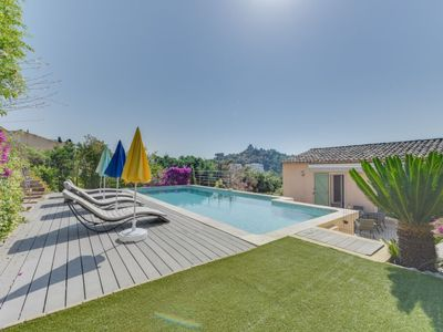 Photo for Vacation home La Colle du Turc in Grimaud - 8 persons, 4 bedrooms