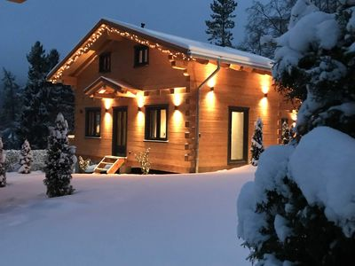 Photo for 5 star log cabin - 5 star log cabin, relax cottage