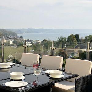 Photo for Luxury house with HOT TUB, ideally located in Saundersfoot with sea views.