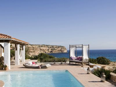 Photo for ES PUJOLS - FORMENTERA: Beautiful house - pool, terraces, WIFI, sea views