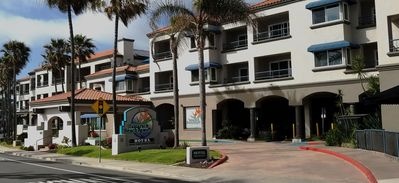 Beachfront hotel located in the village of Carlsbad, CA