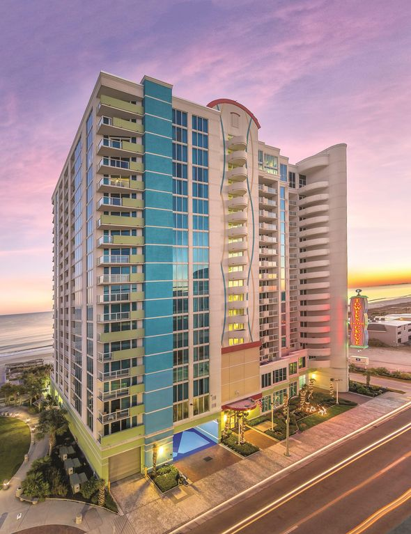 Myrtle Beach Sc One Bedroom Ocean View With Pool Lazy River Beach More Cherry Grove
