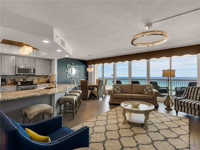 Photo for Gulf Front, Large Balcony, Private Elevator Entrance, Free Snorkeling