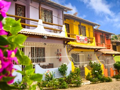 Photo for Fit 2/4 in the center of Pipa, with WIFI and a few minutes from the beach