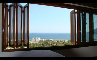 Ocean view from bed.