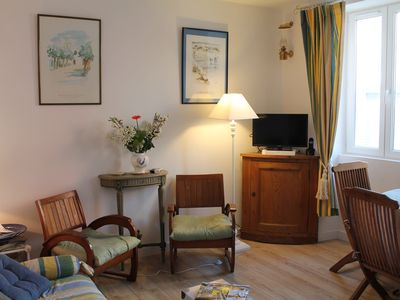 Photo for Cozy apartment 2 steps from the Hotel de Ville, 1 bedroom, 1 living room kitchen bathroom