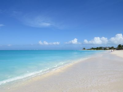 Photo for Charming private cottage short walk to Grace Bay Beach. Weekly rates available!