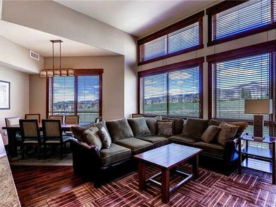 Photo for Impressive condo w/stunning view, gondola access and loads of resort amenities