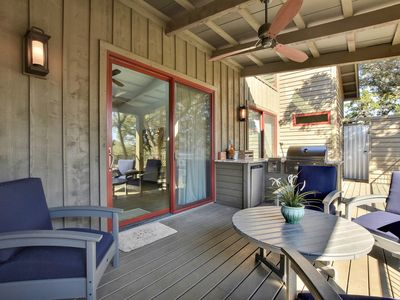 Photo for 2BR Reserve at Lake Travis Cabin w/ Outdoor Living – Near Shopping & Dining