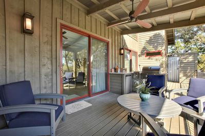 Deck - Welcome to Spicewood! This cabin is professionally managed by TurnKey Vacation Rentals.