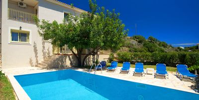 Photo for Villa With Private,Heated Swimming Pool And Breathtaking Sea Views