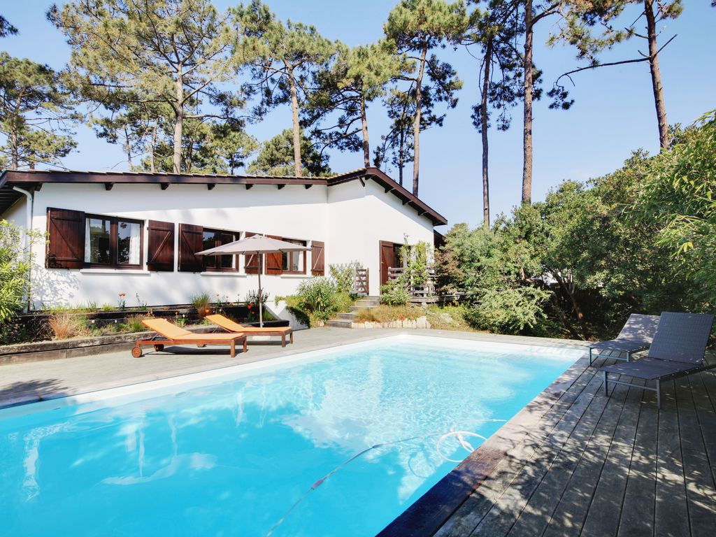Chic Summery Cap Ferret Villa Avec Piscine March