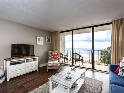 Photo for Beautifully Renovated Beach Front 2nd Floor Condo at Edgewater Beach Resort