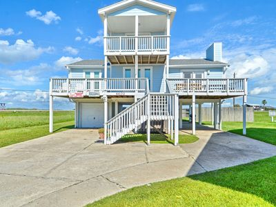 Photo for Going Coastal - beachside 4 bedroom 2 bath sleeps 14!