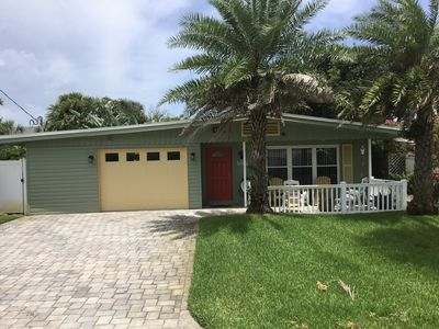 Photo for Cozy beach house, 2 blocks from the beach, shops, bars and restaurants