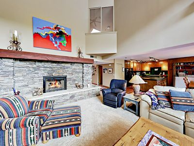 Photo for 4BR/4BA Lakeside Condo w/ Hot Tub, Paved Nature Trails, 1 Mile to Deer Valley