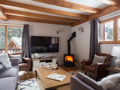 Photo for 12 Guest Individual Chalet in Ste Foy Resort