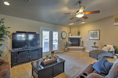 Inside, you'll find all of the comforts of home, plus the amenities you desire.