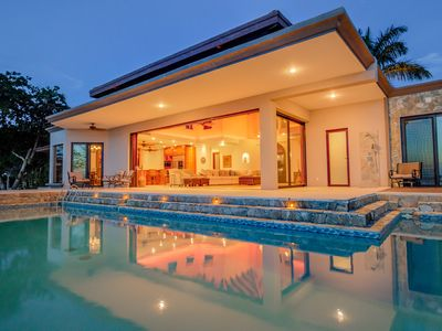 Photo for NEW TO THE RENTAL MARKET!!!Enjoy Barefoot Luxury in this Beachfront Home w/ Pool