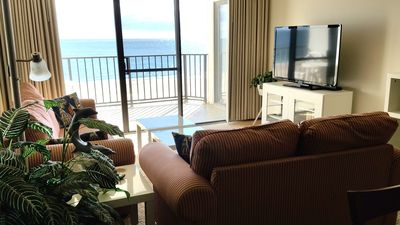 Photo for FREE DAILY ACTIVITIES! Direct Oceanfront 2 Bedroom, 2 Bath unit with semi private den.