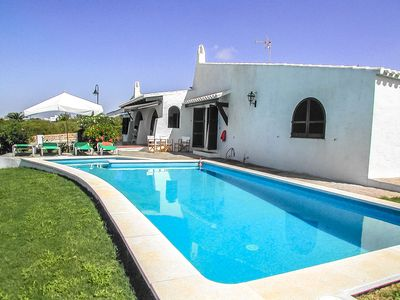 Photo for Catalunya Casas: Villa Bini for 7 guests, only 1km to gorgeous Menorca beaches!