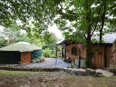 Photo for A romantic and special holiday in a yurt and a comfortable little home!