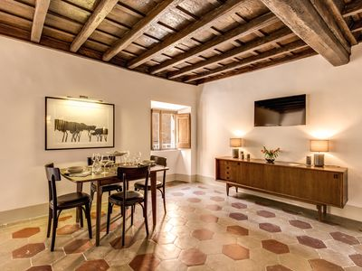 Photo for SUITE BANCHI VECCHI, CHARMING APARTMENT IN THE HISTORICAL CENTRE OF ROME!