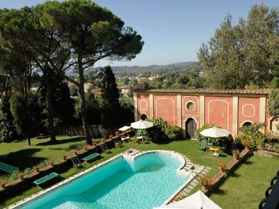 Photo for Among the historic villas dotted around the countryside near Lucca, Villa Oliva, which lies just 6 k