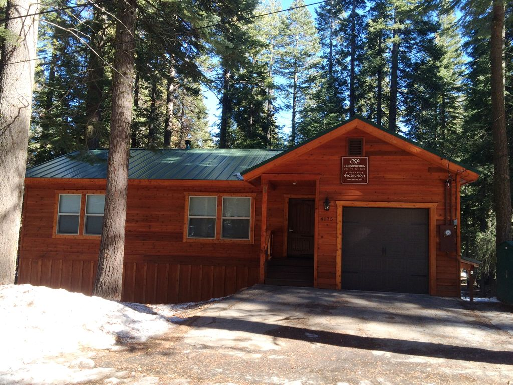 Gorgeous cabin on tahoe 39 s west shore homewood north for North lake tahoe cabins