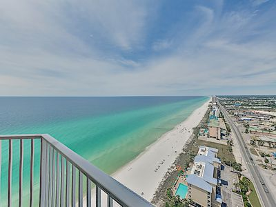 Photo for Penthouse Tidewater Corner Unit w/ Pools, Hot Tubs & Gym - Steps to Beach!