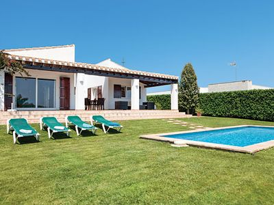 Photo for Peaceful villa with pool and all modern comforts located close to resort