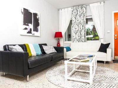 Photo for Chic Bungalow Oasis 2 Bedroom 1 Bath 1 Mile to Wilton Manors