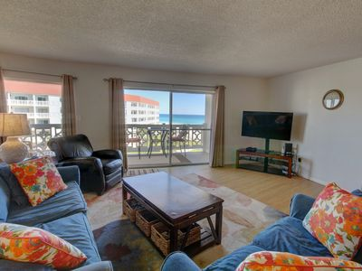 Photo for Beautiful Condo w/ Ocean View, Private Balcony, Beach Access, & More!