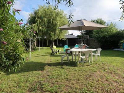 Photo for 2 bedroom Villa, sleeps 5 in Le Magouër with WiFi