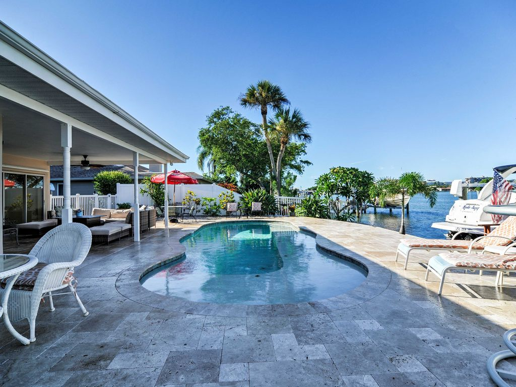 St Pete Beach House Rental Pool