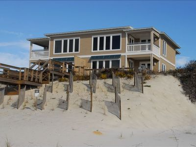 SURF SERENADE RESTS ON TOP DUNES JUST FEW STEPS TO GULF OF MEXICO