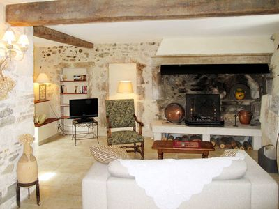 Photo for Vacation home Le Cheval Blanc  in La Bâtie Rolland, Mont Ventoux surroundings - 4 persons, 2 bedrooms