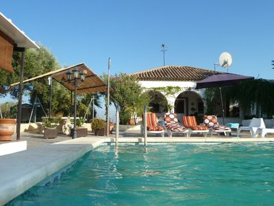 Photo for Beautiful Andalusian style villa with private pool sleeps upto 12 people