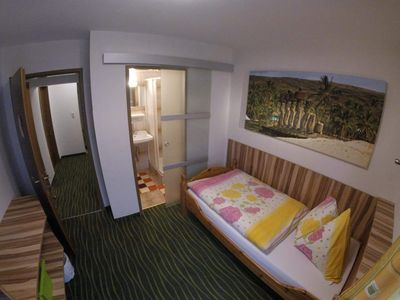 Photo for Single room with shower, WC - Stiegler, Pension