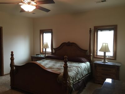 Master bedroom. King size comfort