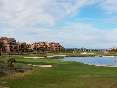 Photo for Apartment for rent at the popular Mar Menor Golf Resort, Torre Pacheco