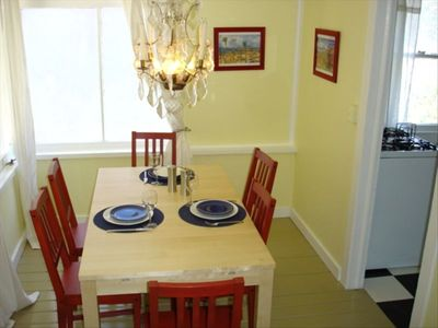 Dining Room - Seating for six, or eight if table is expanded
