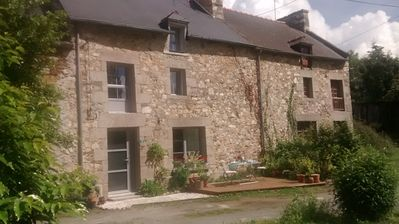 Photo for Charming renovated stone cottage in the heart of the region Dinard / Dinan