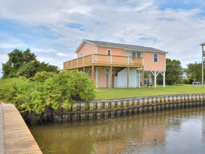 Photo for Sea Rover-Close to Beach-3 Bdrm/2 Bath Home on Davis Canal-Sleeps 8