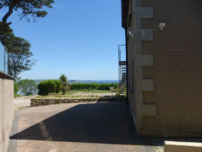 Photo for Luxury Seaview Ground floor Apartment, Private Parking