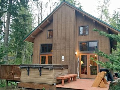 Photo for Vacation home 44MBR Rustic Cabin with a Hot Tub  in Mt. Baker/ Glacier, Washington - 8 persons, 3 bedrooms