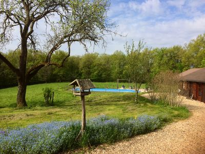 Photo for Idyllic, Rustic Retreat;  2 Cottages, Private Pool: Charm & Amenities