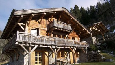 Photo for Really charming chalet in the Mont d'Arbois 700m from the center of Megève